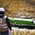 OEFA supervisa derrame de hidrocarburos por volcadura de un camión cisterna en Junín
