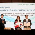 OEFA y Mine Reclamation Corporation de la República de Corea firman acuerdo de cooperación interinstitucional