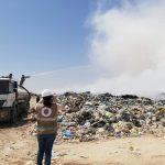 OEFA supervisa incendio en botadero municipal de Tacna