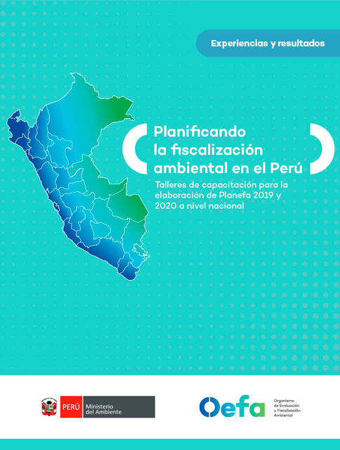 Planificando la fiscalización ambiental en el Perú. Talleres Planefa 2019 y 2020