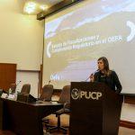 Gerenta general del OEFA participó como ponente en III Congreso Internacional de Derecho Ambiental