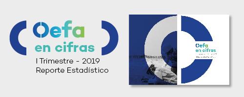 Reporte estadístitico del primer trimestre 2019 Oefa