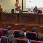 Coordinadora de Gestión Socioambiental del OEFA participa en conferencia sobre minería y sociedad
