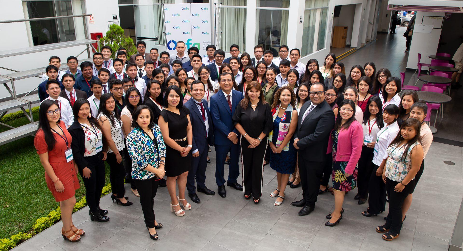 Estudiantes de Arequipa, Cusco, Piura y Lima ocupan los primeros puestos en el Curso de Extensión Universitaria 2020 del OEFA