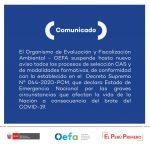 Comunicado – Convocatorias de trabajo