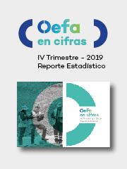 OEFA en cifras. Reporte Estadístico – IV Trimestre 2019