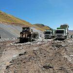 OEFA supervisa el manejo de residuos sólidos en la Celda Transitoria de Huanuyo en Puno