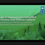 OEFA suscribe Memorando de Entendimiento con el Programa de las Naciones Unidas para el Desarrollo (PNUD)